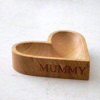 Personalised Heart Shape Bowl
