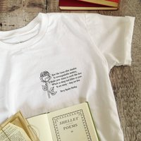 Percy Shelley 'Rise Like Lions' T Shirt