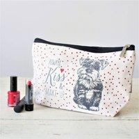 Sweet Puppy Dog Makeup Bag