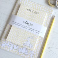 New Mum Personalised Notebook Set