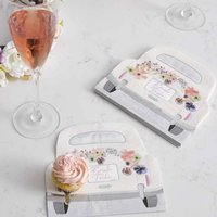 Bridal Shower And Wedding Floral Napkins