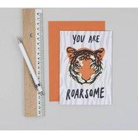 Roarsome Tiger Card