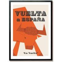 'Vuelta A Espana' Grand Tour Cycling Poster