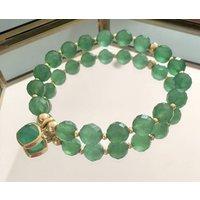 Green Onyx Heart Chakra Bracelet