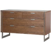 Morcott Walnut Two Over Two Chest Of Drawers