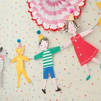 Toot Sweet Children's Party Garland/Bunting Kit