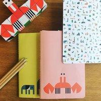Crab And Giraffe Notebooks
