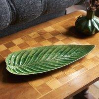 Ceramic Leaf Platter