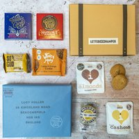 Nuts And Chocolate Lovers Letter Box Hamper