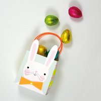 Pack Of Eight Easter Bunny Party Bags