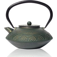 Green Hiyaku Cast Iron Teapot 800ml