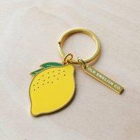 Lemon Keyring