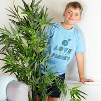 Children's Love Your Planet T Shirt