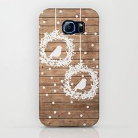 Christmas Wearth On Wood Print Phone Case