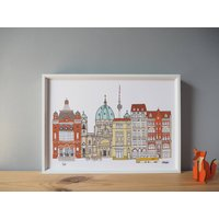 Berlin Cityscape Print