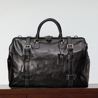 Italian Leather Gladstone Travel Bag Gassano Large