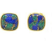 Frame Azurite Earrings