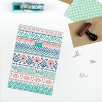 A5 Navaho Print Notebook