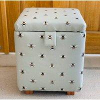 Bumble Bee Footstool Ottoman