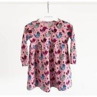 Pink Birdie Childrens Dress