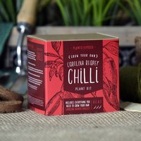 Grow The Worlds Hottest Chilli Plant Kit