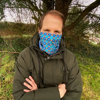 Ribeira Turquoise Neck Warmer Snood