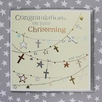 Congratulations On Your Christening Card