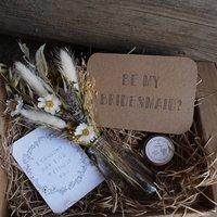 Natural Posy Bridesmaid Gift Box