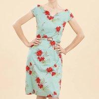 Summer Print Shift Dress