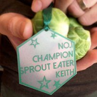 Personalised Sprout Eater Tree Decoration