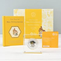 Mrs Tittlemouse Book And Coin Gift Set Limited Edition