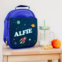 Personalised Insulated Space Explorer Lunch Bag