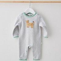 Crochet Cheetah Babygrow