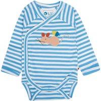 Fieldmouse Blue Stripe Baby Bodysuit
