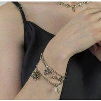 Keimau Silver Charm Bracelet, Silver