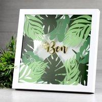 Personalised Name Botanical Frame
