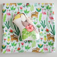 Muslin Swaddle Blanket Tropical