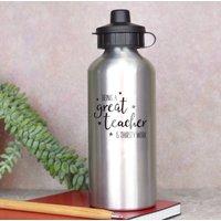 Thirsty Work Teacher Water Bottle