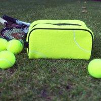 Tennis Ball Sports Wash Bag