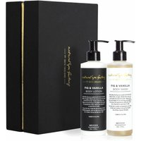 Fig And Vanilla Body Wash And Lotion Gift Set