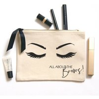 All About The Brows Makeup Bag