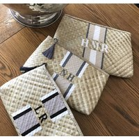 Lily And Bean Straw Clutch Bag