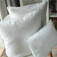 Stone Washed Linen Decorative Cushion Covers