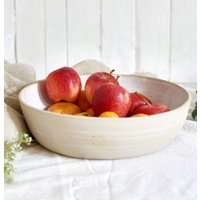 White Ceramic Serving Platter