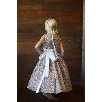 Cotton Floral Flower Girl Dress