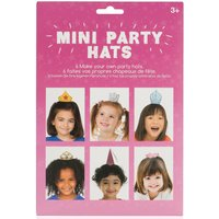 Pack Of Six Mini Party Hats