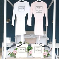 Bride And Mother Of The Bride Robe And Tote Set