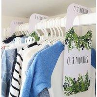 Babys Wardrobe Clothing Dividers | Foliage Design