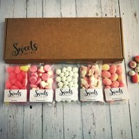 Tickled Pink Letterbox Sweets Gift Box, Pink