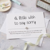 A Little Wish Bracelet Gift To Say Sorry